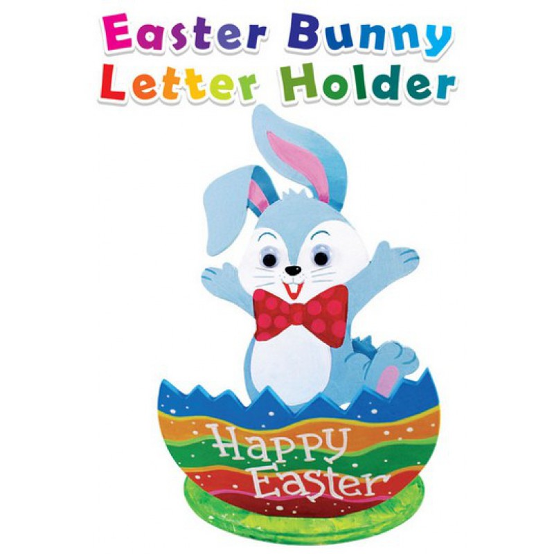 Easter Bunny Letter Holder  Loose