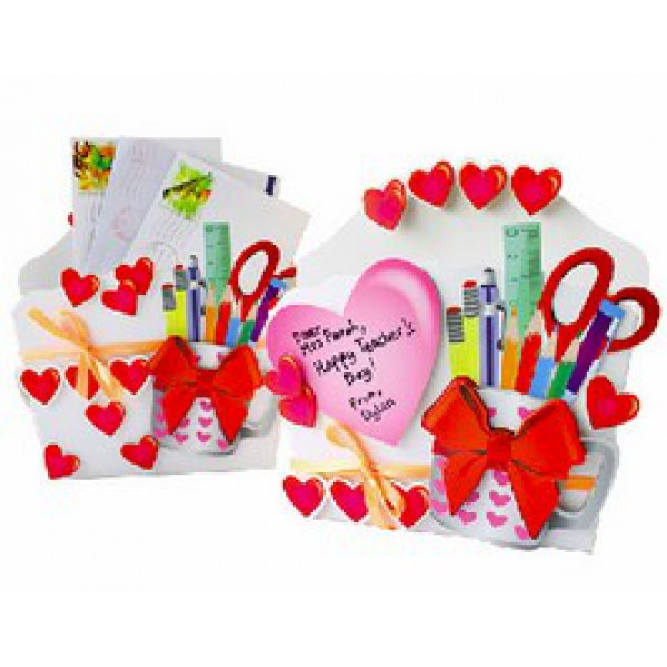 DIY Teacher's Day Letter Holder 10 Pack